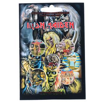 Insigne cu bolț de prindere Iron Maiden - RAZAMATAZ, RAZAMATAZ, Iron Maiden