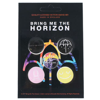 Insigne cu bolț de prindere Bring Me The Horizon - RAZAMATAZ, RAZAMATAZ, Bring Me The Horizon