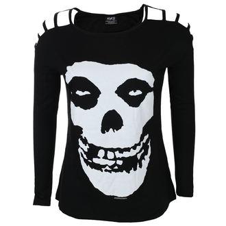 tricou stil metal femei Misfits - SKULL - LIVE NATION, LIVE NATION, Misfits