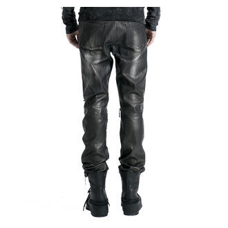 Pantaloni bărbaţi PUNK RAVE- Therion - black / silver , PUNK RAVE