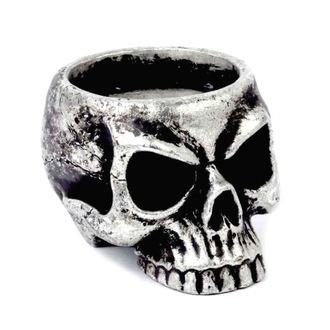 Suport de lumânare (decorațiune) ALCHEMY GOTHIC - Skull Tea, ALCHEMY GOTHIC