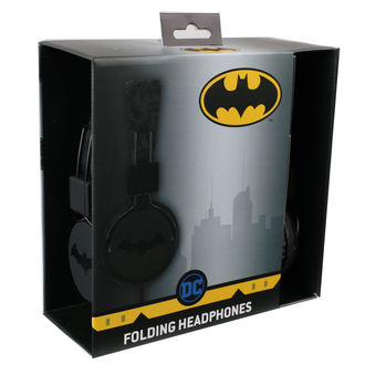 Căști Batman - Black Logo