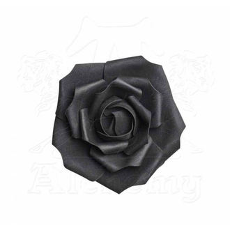 Decorațiune ALCHEMY GOTHIC - Small Black Rose Head, ALCHEMY GOTHIC