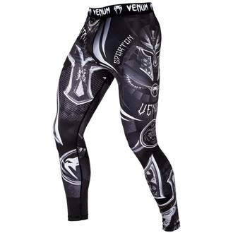 a bărbaţilor a face exerciţii fizice colanți (comprimare pantaloni) VENUM - Gladiator 3.0 - Negru / alb, VENUM