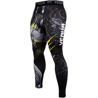 Colanți bărbătești pentru exerciții fizice (pantaloni de antrenamente) Venum - Viking 2.0 - Black / Yellow, VENUM