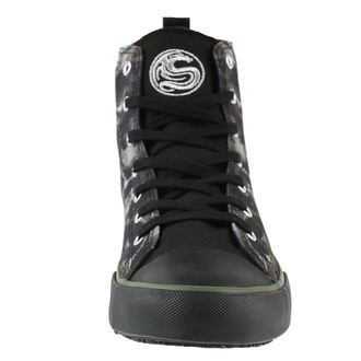 Adidași bărbătești înalți  SPIRAL - CAMO-SKULL - Sneakers , SPIRAL