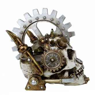 Decorațiune ALCHEMY GOTHIC - Steamhead Skull, ALCHEMY GOTHIC