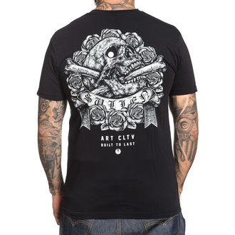 tricou hardcore bărbați - STIPPLE SKULL - SULLEN, SULLEN