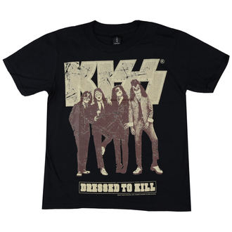 tricou stil metal bărbați Kiss - Dressed to Kill - LOW FREQUENCY, LOW FREQUENCY, Kiss