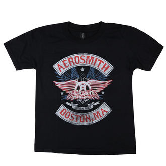 tricou stil metal femei Aerosmith - Boston Pride - LOW FREQUENCY, LOW FREQUENCY, Aerosmith