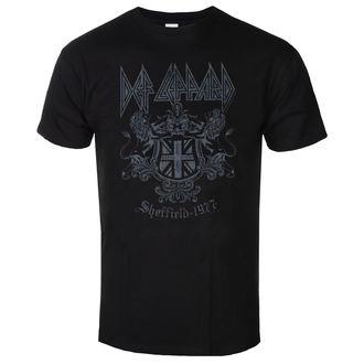 tricou stil metal bărbați Def Leppard - Sheffield 1977 - LOW FREQUENCY, LOW FREQUENCY, Def Leppard