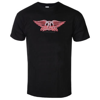 tricou stil metal bărbați Aerosmith - Logo - LOW FREQUENCY, LOW FREQUENCY, Aerosmith