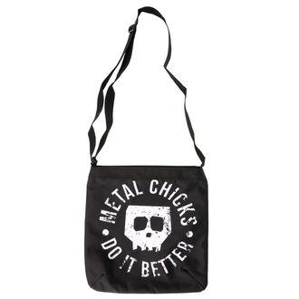 Geantă (poșetă de  mână)  METAL CHICKS DO IT BETTER, METAL CHICKS DO IT BETTER