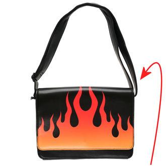 geantă de mână IRON FIST - Fire Sign - Negru - IFW05069 - DETERIORATĂ, IRON FIST
