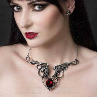 Colier cu pandantiv ALCHEMY GOTHIC - The Maidens Conquest, ALCHEMY GOTHIC