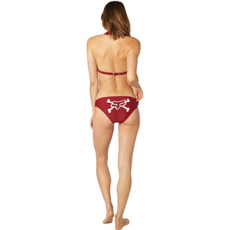 Bikini damă FOX - Throttle Maniac - Halter - Dark Red, FOX