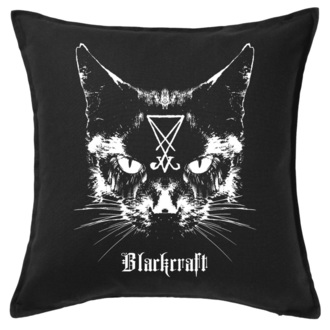 Pernă BLACK CRAFT - Lucifer The Cat Throw, BLACK CRAFT