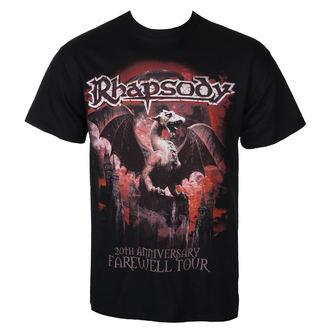 tricou stil metal bărbați Rhapsody - 20TH ANNIVERSARY - RAZAMATAZ, RAZAMATAZ, Rhapsody