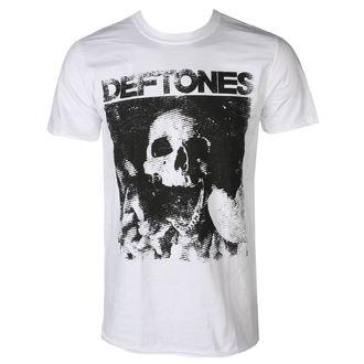 Tricou bărbătesc DEFTONES - SKULL - WHITE - PLASTIC HEAD, PLASTIC HEAD, Deftones