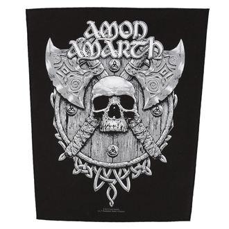 Petic mare AMON AMARTH - SKULL AND AXES - RAZAMATAZ, RAZAMATAZ, Amon Amarth