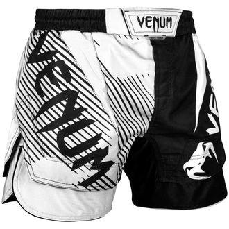 Pantaloni scurți de box (boxeri de luptă) VENUM - NoGi 2,0 - Black / White, VENUM