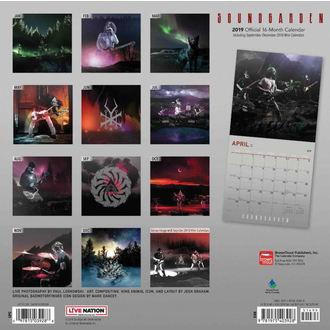 Calendar pentru anul 2019 SOUNDGARDEN, NNM, Soundgarden