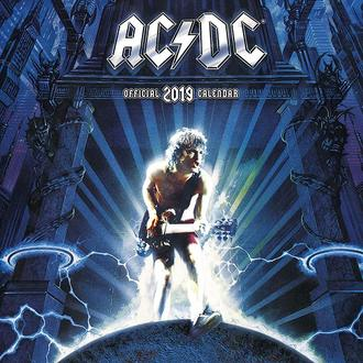 Calendar pentru anul 2019 AC / DC, NNM, AC-DC