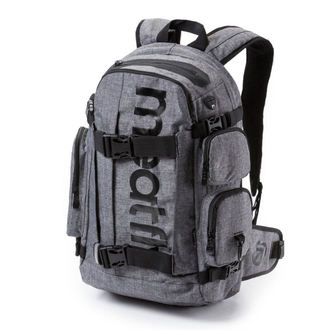 Rucsac MEATFLY - Wanderer 3 - A Heather Gray, MEATFLY