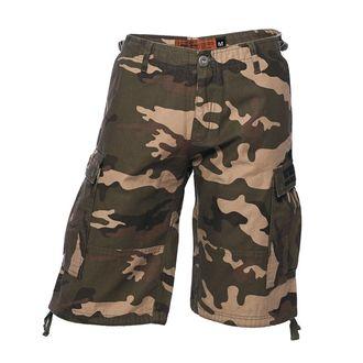 Pantaloni bărbătești scurți WEST COAST CHOPPERS - CARGO - Camo, West Coast Choppers