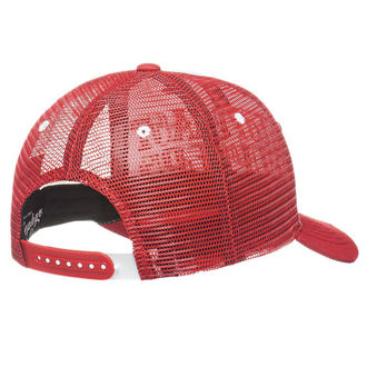 Șapcă WEST COAST CHOPPERS - CLUTCH LOGO ROUND BILL - Red, West Coast Choppers