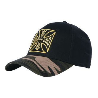 Șapcă WEST COAST CHOPPERS - CAMO WARRIOR - Black, West Coast Choppers