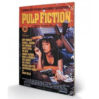 Pictură pe lemn Pulp Fiction - (&&string0&&) - PYRAMID POSTERS