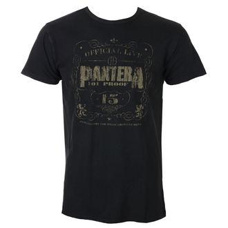 tricou stil metal bărbați Pantera - 101% Proof Vintage - ROCK OFF, ROCK OFF, Pantera