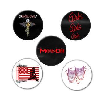 Insigne Mötley Crüe - DR FEELGOOD - RAZAMATAZ, RAZAMATAZ, Mötley Crüe