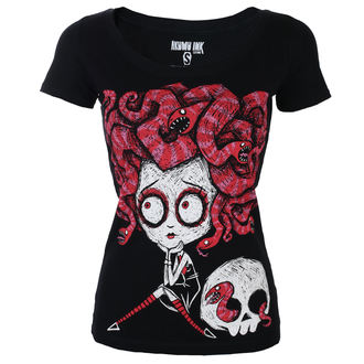 tricou hardcore femei - Medusa In Love Scoop - Akumu Ink, Akumu Ink
