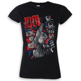 tricou stil metal femei Billy Idol - Dancing With Myself - ROCK OFF, ROCK OFF, Billy Idol