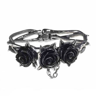 Brăţară ALCHEMY GOTHIC - Wild Black Rose, ALCHEMY GOTHIC