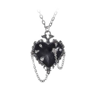 Colier pandantiv ALCHEMY GOTHIC - Witches Heart