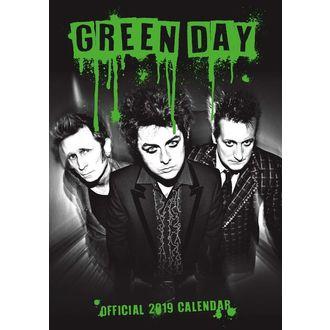 Calendar pentru anil 2019 AC / DC - GREEN DAY, Green Day