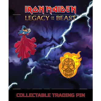 Insigne Iron Maiden - Legacy of the Beast -  Clairvoyant & Wicker Man, Iron Maiden