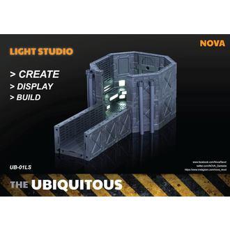 Decorațiune (Dioramă) Ubiquitous Diorama Case with Lighting for Action Figures LS Edition