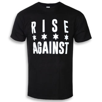 tricou stil metal bărbați Rise Against - Chicago Flag White - KINGS ROAD, KINGS ROAD, Rise Against