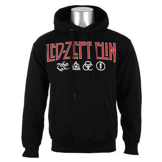 hanorac cu glugă bărbați Led Zeppelin - LOGO & SYMBOLS - PLASTIC HEAD, PLASTIC HEAD, Led Zeppelin