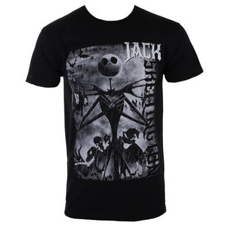 Tricou bărbați  THE  NIGHTMARE BEFORE CHRISTMAS - SKEL LINGTON, PLASTIC HEAD