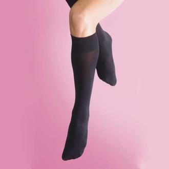 Şosete înalte peste genunchi LEGWEAR - 70 denier opaque knee high 1pp - negru, LEGWEAR