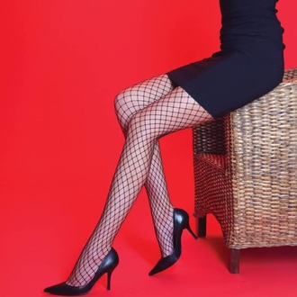 Colanți LEGWEAR - Medium net - Black, LEGWEAR